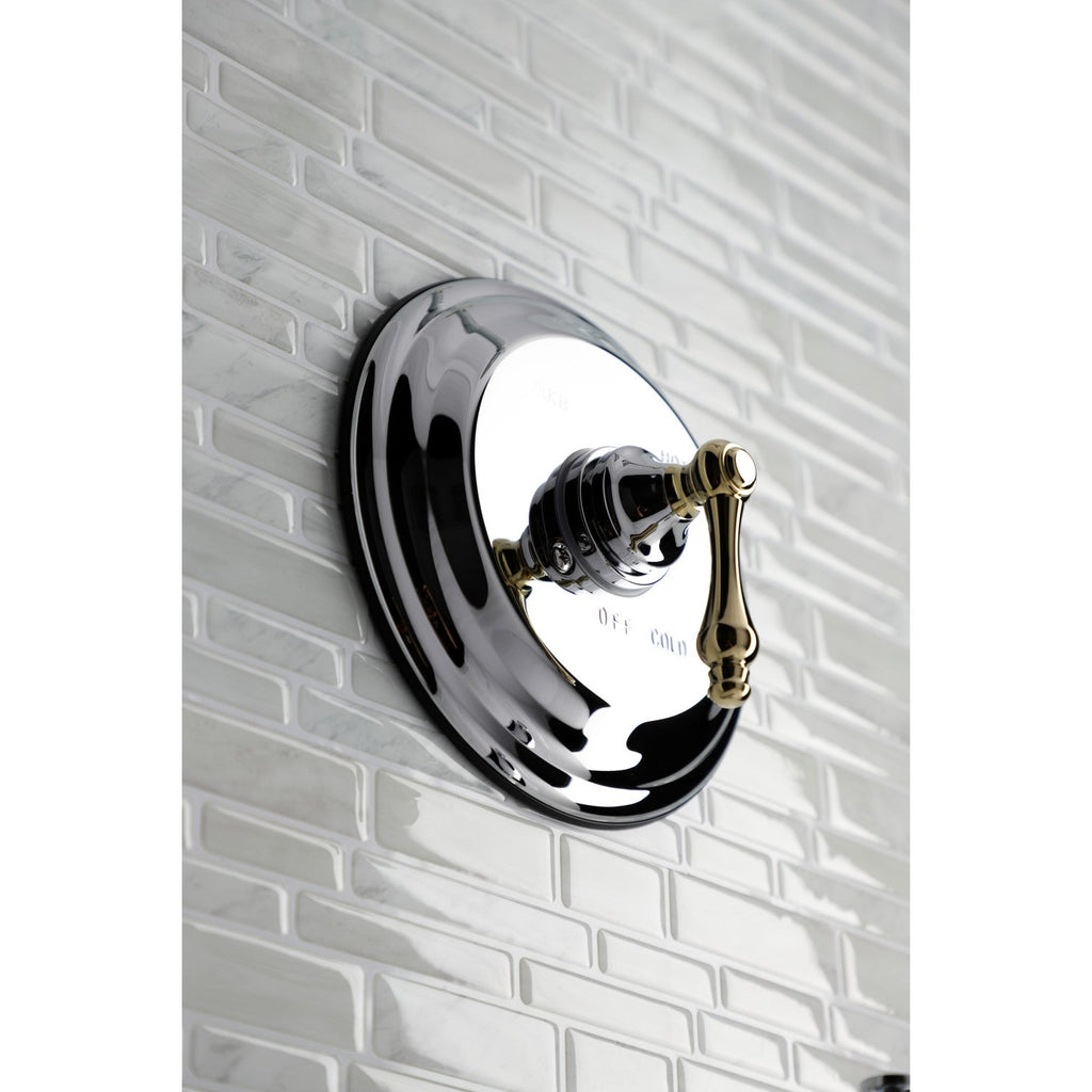 Restoration Single-Handle 2-Hole Wall Mount Shower Faucet