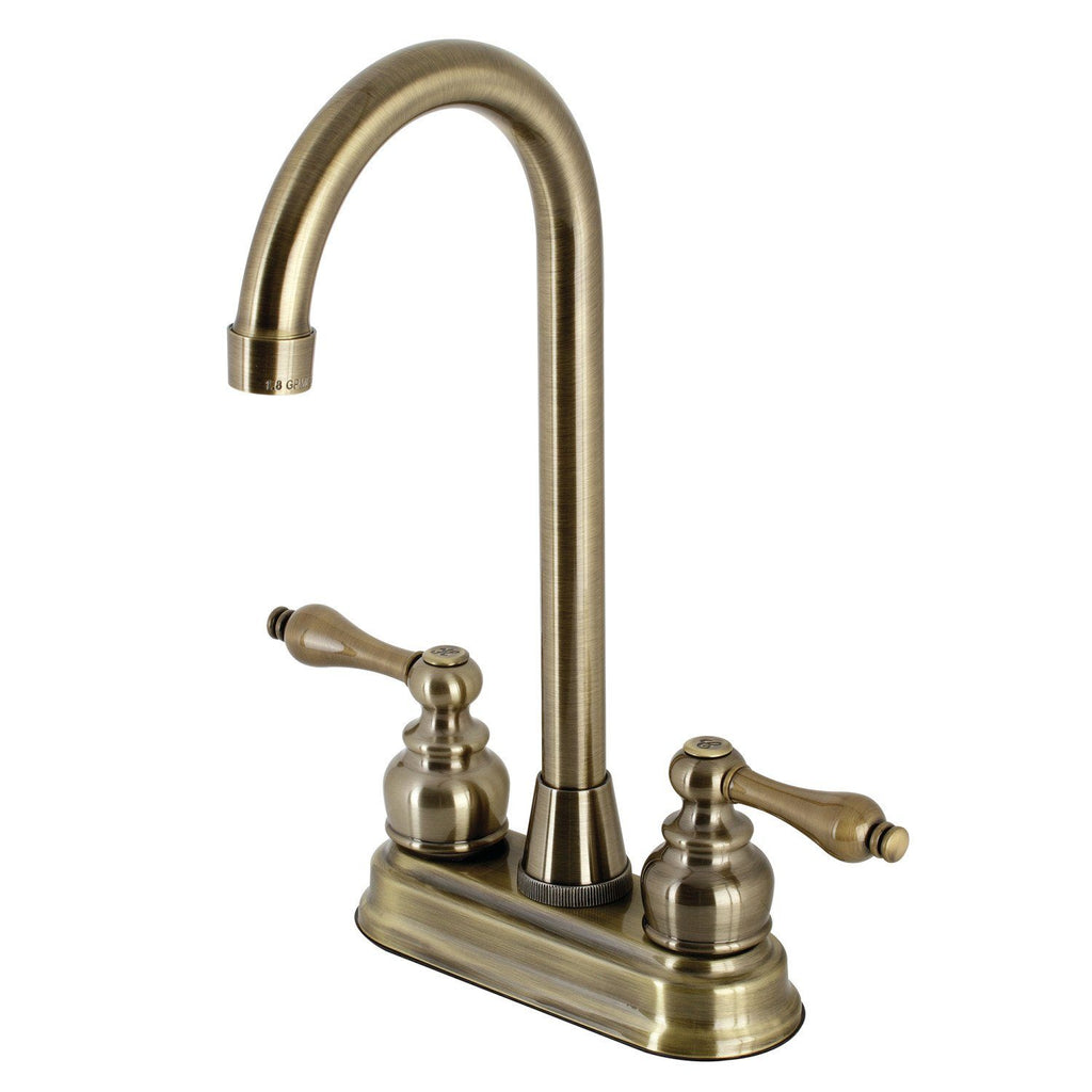 Victorian Two-Handle 2-Hole Deck Mount Bar Faucet