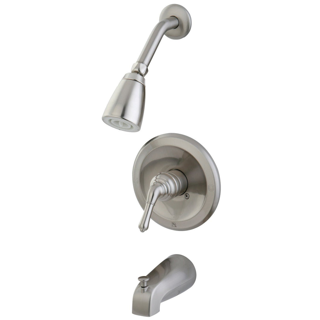 Tub and Shower Faucet, Brushed Nickel