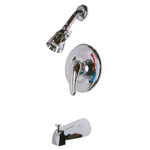 Legacy Single Handle 3-Hole Tub and Shower Single Handle Lever Faucet, 1.8 gpm & 7 gpm