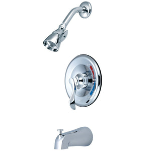 NuWave Single-Handle 3-Hole Wall Mount Tub and Shower Faucet