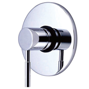 Classic Single-Handle 1-Hole Wall Mount Tub and Shower Faucet Valve and Trim Only