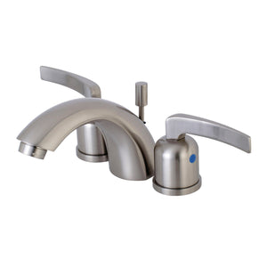 "Centurion Two Handle 4"" Mini-Widespread 3-Hole Bathroom Faucet w/Metal Lever - Includes Pop-Up Drain, 1.2 gpm"
