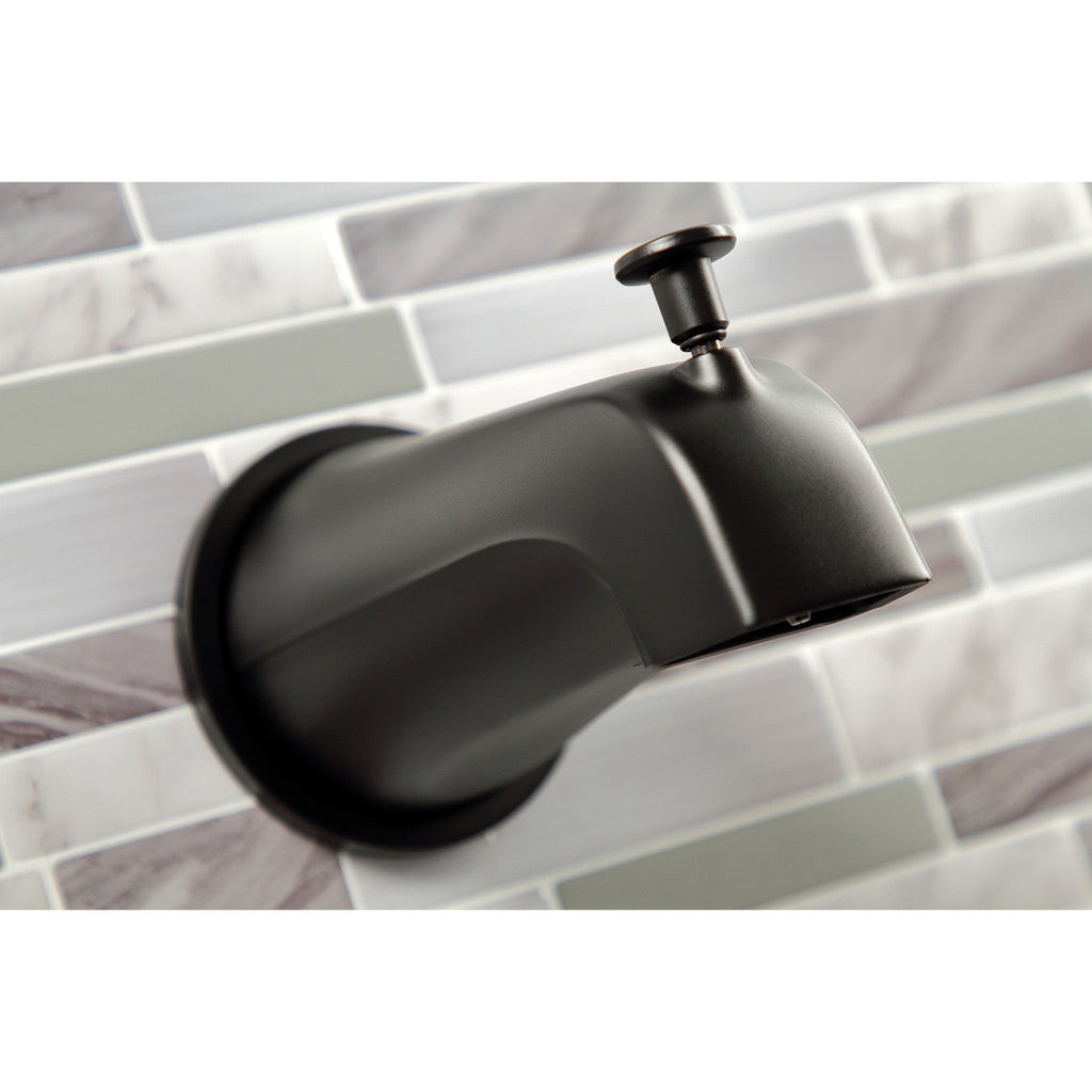 Centurion Two-Handle 4-Hole Wall Mount Tub and Shower Faucet
