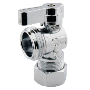 "5/8"" O.D. Comp x 3/4"" Hose Thread Angle Shut Off Valve"