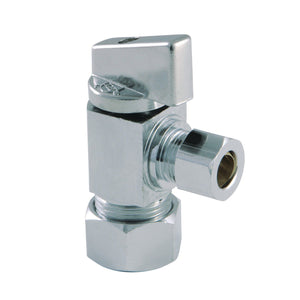 Columbia 5/8-Inch x 3/8-Inch OD Compression Quarter-Turn Angle Stop Valve