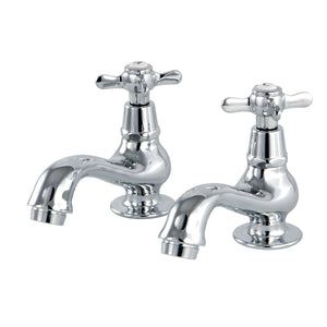 Essex Two Handle Basin Tap Faucet Set w/Metal Cross, 1.2 gpm