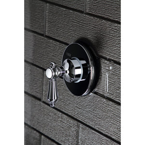 Heirloom Single-Handle Wall Mount Three-Way Diverter Valve with Trim Kit