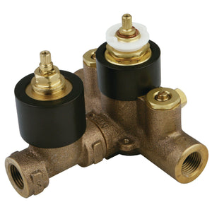 Thermostatic Valve With Volume Control, Oil Rubbed Bronze