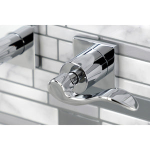 NuWave Two-Handle 3-Hole Wall Mount Tub Faucet