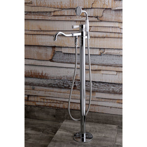 Paris Single-Handle 1-Hole Freestanding Tub Faucet with Hand Shower