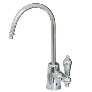 Restoration Single Handle 1-Hole Cold Water or Filtration Faucet w/Metal Lever, 1.0 gpm