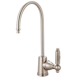 Georgian Single Handle 1-Hole Cold Water or Filtration Faucet w/Metal Lever, 1.0 gpm