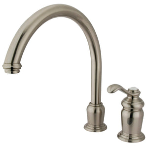 Templeton Single Handle 2-Hole Kitchen Faucet w/Metal Lever, 1.8 gpm
