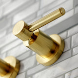 Concord Two-Handle 3-Hole Wall Mount Roman Tub Faucet