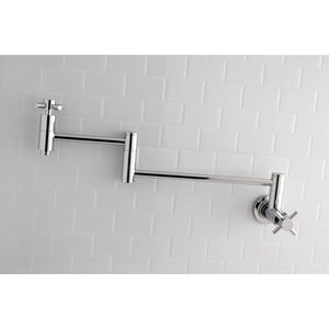 Concord Two-Handle 1-Hole Wall Mount Pot Filler