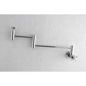 Millennium Two-Handle 1-Hole Wall Mount Pot Filler