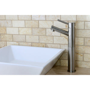 Concord Single Handle 1-Hole Vessel Sink Bathroom Faucet w/Metal Lever, 1.2 gpm