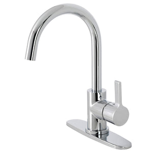 Continental Single-Handle 1-or-3 Hole Deck Mount Kitchen Faucet