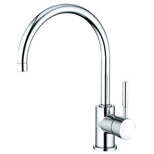 Concord Single Handle 1 or 3 Hole Kitchen Faucet w/Metal Lever, 1.8 gpm