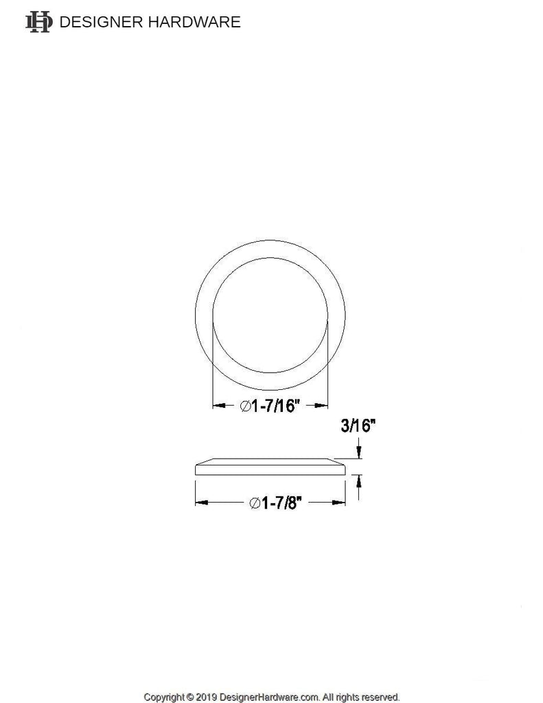 Escutcheon For KS3191AL