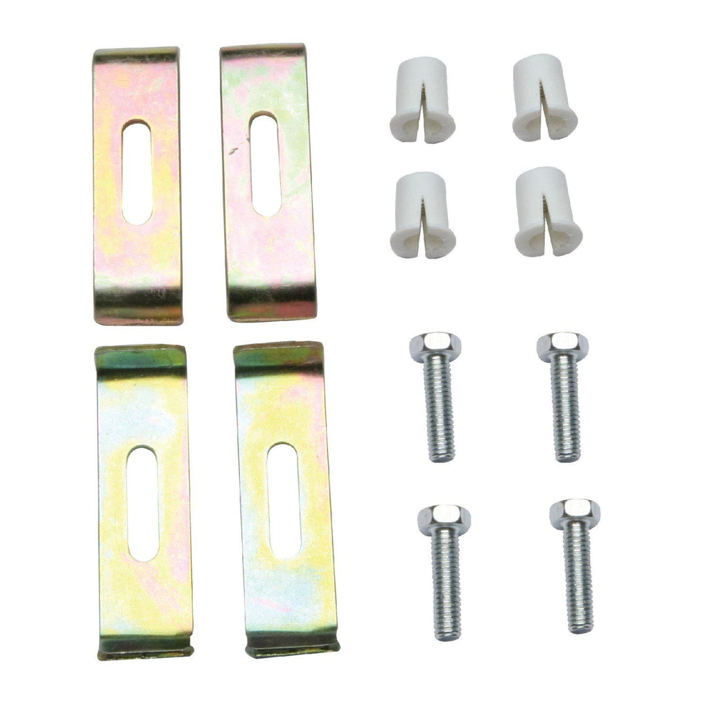 4-Pieces Undermount Clip for Stainless Steel Sink