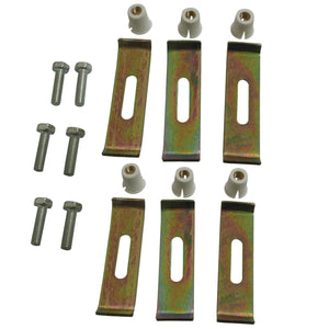 Undermount Clip 6 Clips Pack