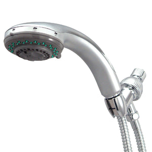 Vilbosch 5 Setting Hand Shower with Stainless Steel Hose, Chrome