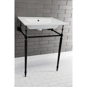 Continental 25-Inch Ceramic Vanity Sink Top