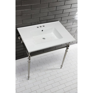 Continental 31-Inch Ceramic Vanity Sink Top