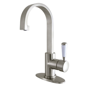 Paris Single Handle 1-Hole Bathroom Faucet w/Metal Lever  - Includes Pop-Up Drain, 1.2 gpm