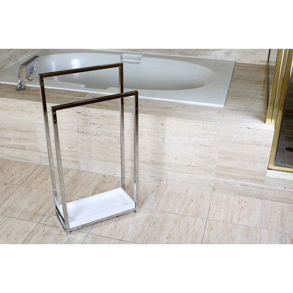Edenscape Freestanding 2-Tier Towel Rack