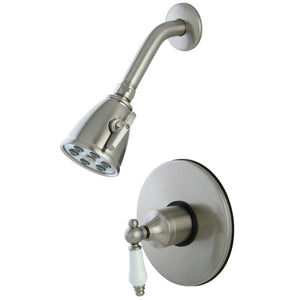Single-Handle 2-Hole Wall Mount Shower Faucet