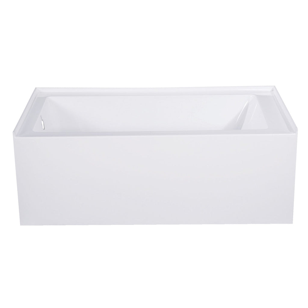 "Aqua Eden 54"" Acrylic Alcove Bath Tub with Left Hand Drain"