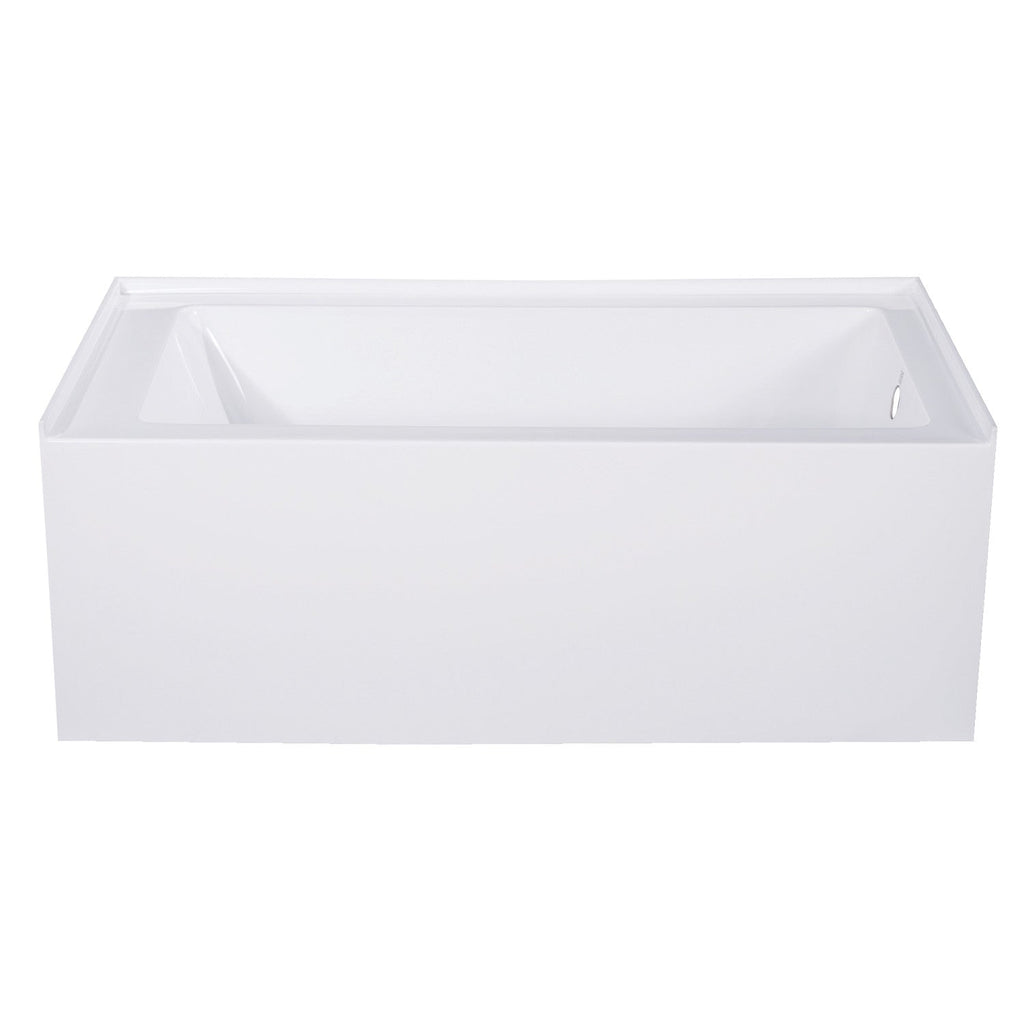 "Aqua Eden 54"" Acrylic Alcove Bath Tub with Right Hand Drain"