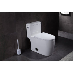 Courtyard Single-Flush 1.28 GPF Elongated One-Piece Toilet