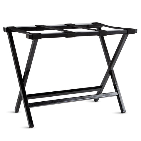 Complete your guest bedroom with a sturdy luggage rack.