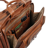 SANTE FE DELUXE LAPTOP BRIEFCASE