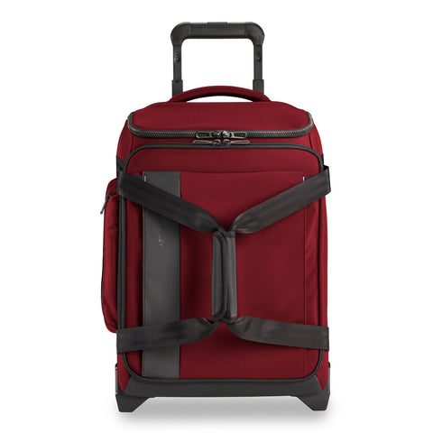 "BRIGGS AND RILEY ZDX 21"" CARRY-ON UPRIGHT DUFFLE"
