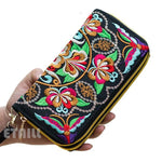 Peacock Embroidered Luxury Long Wallets For Women's - Pitchkes.com
