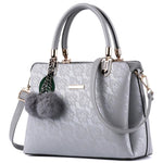 ACELURE Women High-Quality Leather Fur Handbag, Messenger Bags - Pitchkes.com