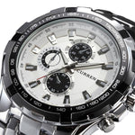 Luxury Water Proof, Stainless Steel Wrist Watch For Men - Pitchkes.com