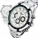 Curren Luxury Stainless Steel, Waterproof, Quartz Wrist Watch For Men's - Pitchkes.com