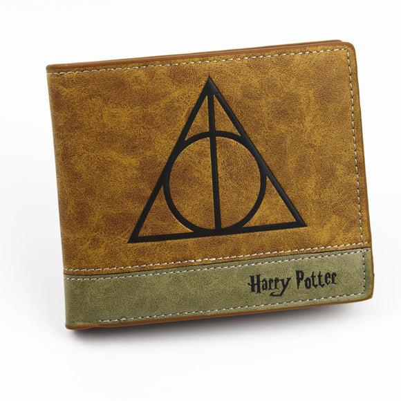 High Quality Short Wallet Anime Harry Potter, Men's Purse With Coin Pocket - Pitchkes.com