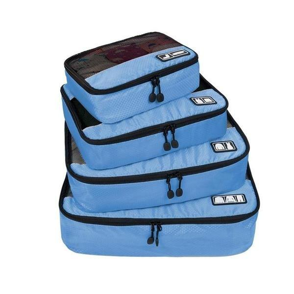 4 Set Packing Organizer And Luggage Suitcase - Pitchkes.com