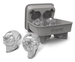 Available in Sep - Shaped 3D Alien Skull Ice Cube Mold Tray