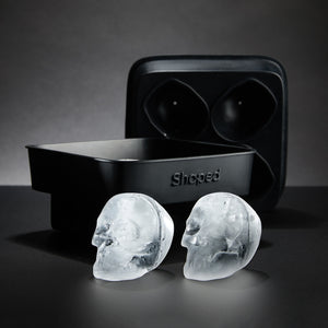 3D Flexible Silicone Skull Ice Cube Mold Tray