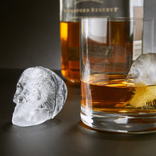 Load image into Gallery viewer, 3D Flexible Silicone Skull Ice Cube Mold Tray - Pack of 2