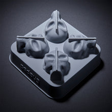 Load image into Gallery viewer, 3D Flexible Silicone Alien-Skull Ice Cube Mold Tray