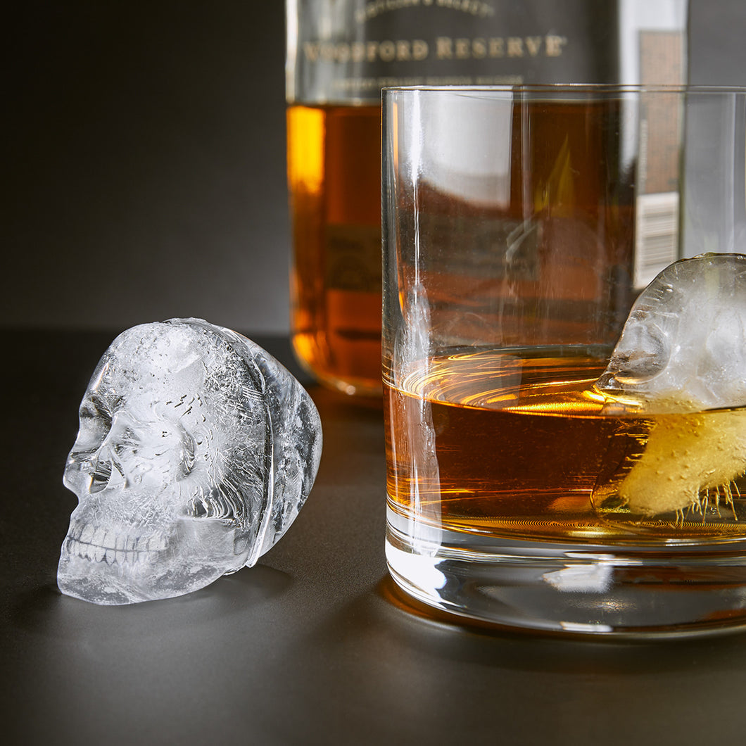 3D Flexible Silicone Skull Ice Cube Mold